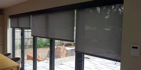 Kitchen Window Coverings Ideas Blinds For Bifold Doors Bifold Door Blinds From Deans Of