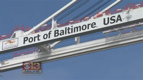 105 7 the fan baltimore the port of baltimore is shattering records 171 cbs baltimore