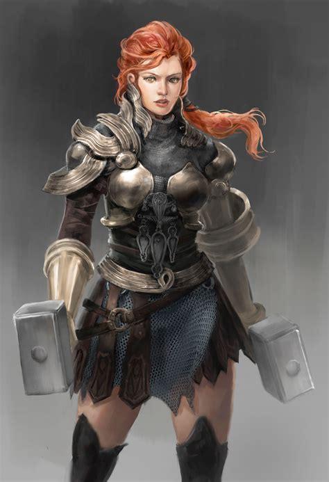 artstation viking ladies shahidah shukoor