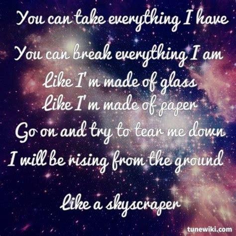 demi lovato skyscraper poetry analysis 29 best lyrics to live by images on pinterest lyrics