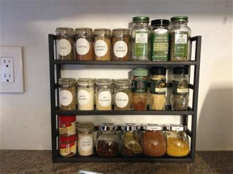 Spice Rack Container Store by Iron Spice Rack Reviews The Container Store