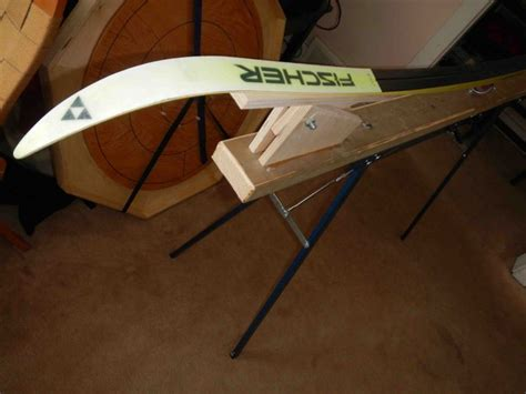 nordic ski wax bench plans for a portable diy ski wax bench xc ski