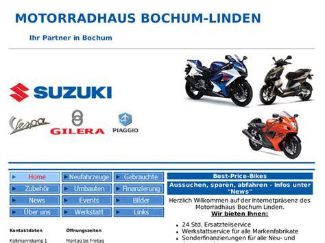 Suzuki Motorrad Händler Ruhrgebiet by Suzuki Bochum Linden Motorrad Bild Idee