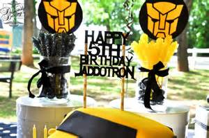 Printable Birthday Decorations Transformers Birthday Party Ideas Photo 1 Of 11 Catch