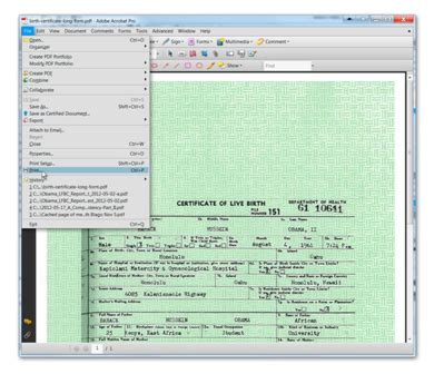 articles new obama birth certificate forgery proof in the