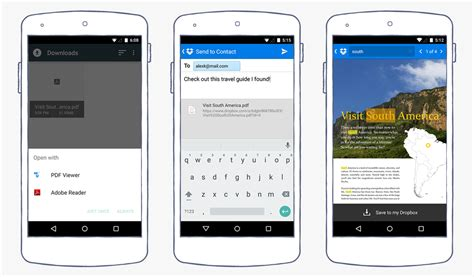 dropbox for android dropbox for android update brings in document search and