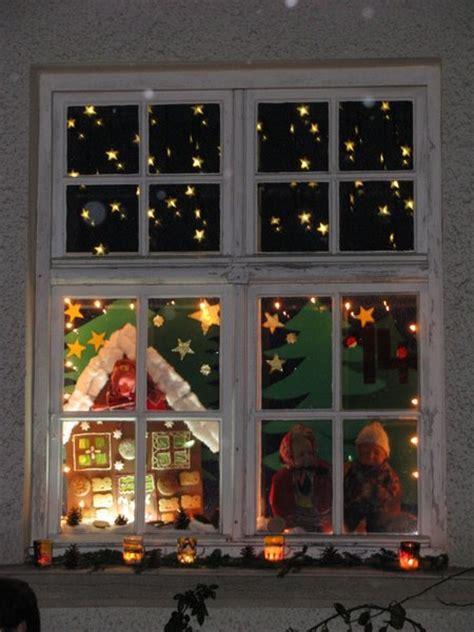 Fenster Weihnachtlich Gestalten by Advents Fenster Im Ellgauer Kindergarten Ellgau