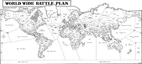world map image black and white with country names battle plan play by mail