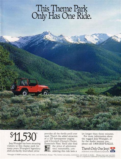 jeep wrangler ads 47 best car truck parts ads images on pinterest print