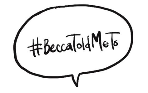 beccatoldmeto spreading kindness one hashtag at a time
