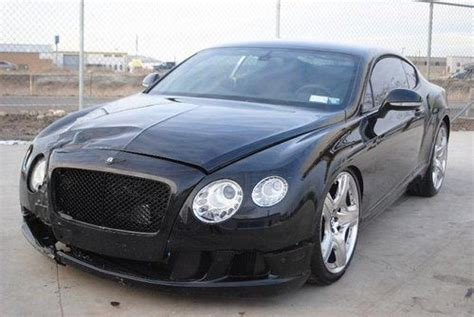 damaged bentley for sale find used 2012 bentley continental gt damaged clean title