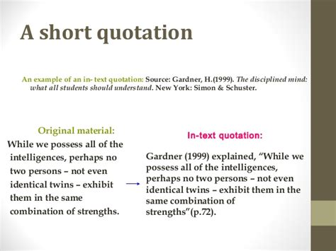 Apa Format Quoting A Quote Within An Article