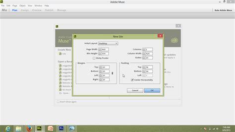 membuat website dengan adobe muse cara mudah membuat website menggunakan adobe muse cc