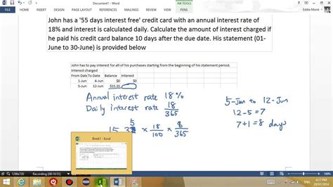 Credit Card Daily Interest Formula Quelques Liens Utiles