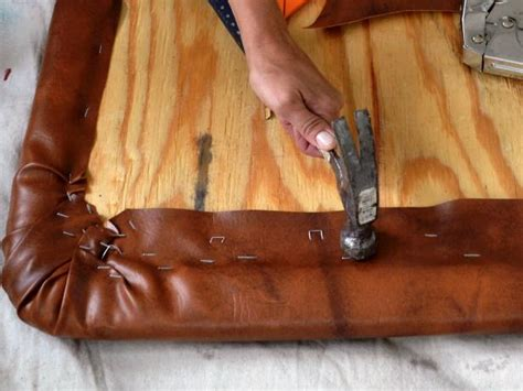how to make leather headboard diy leather like headboard project how tos diy