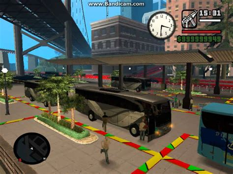 mod game gta indonesia bus shantika indonesia gta san andreas youtube