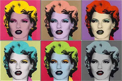 Warhol Vs Banksy Exhibition Features Kate Moss Image by Buying The Of Banksy Pieces Works Sold Or For Sale