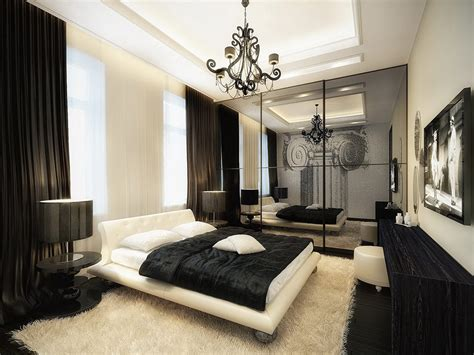 luxurious bedroom luxurious black and white bedroom interior design ideas