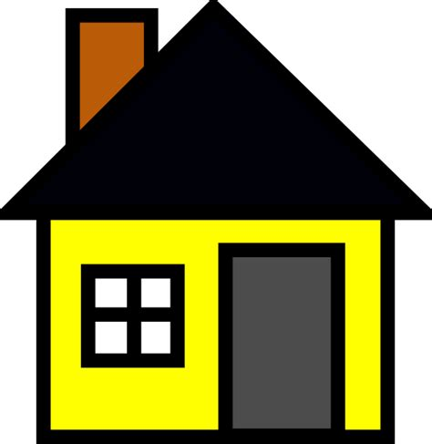 cartoon house clip art at clker com vector clip art yellow house 3 clip art at clker com vector clip art