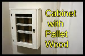 cabinet from a pallet essential shelf