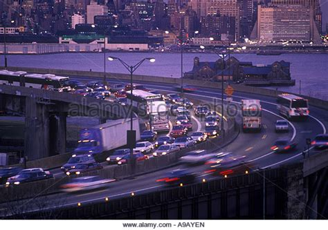 lincoln tunnel closures lincoln tunnel traffic stock photos lincoln tunnel