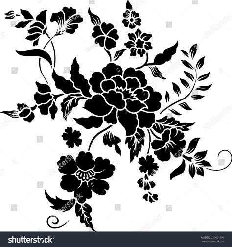 design undangan batik vector flower batik stock vector 220031296 shutterstock