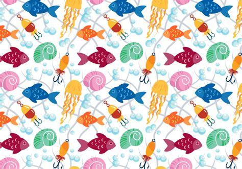vector watercolor fish patterns download free vector art free fish pattern vectors download free vector art