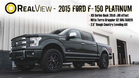 realview leveled  ford     xd series bucks
