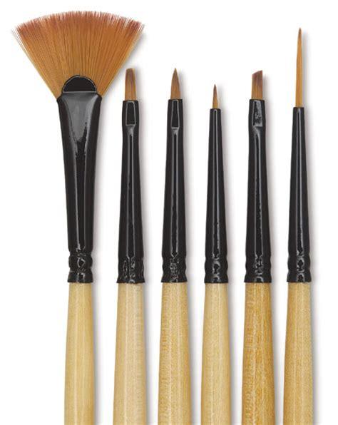 decorative mini l dynasty black gold decor mini brush sets blick art materials