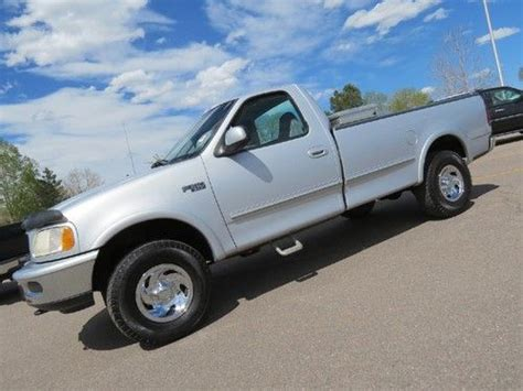 ford f150 long bed purchase used 1997 ford f 150 regular cab long bed 4x4 xlt