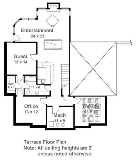 baths of caracalla floor plan caracalla 7140 4 bedrooms and 3 baths the house designers
