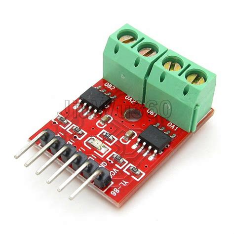 Dual Two Driver Motor Dc H Bridge L9110 dual driver chip l9110s h bridge l9110 two channel motor driver module in other electronic