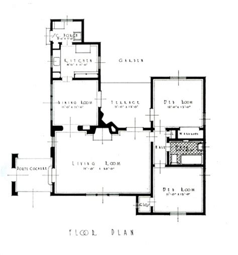 Paul Revere House Floor Plan small house competition santa barbara paul revere williams
