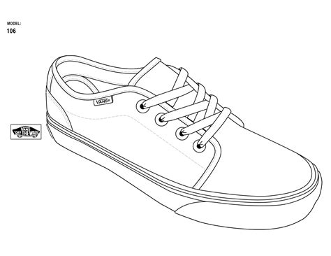 sneaker design template vans shoe design template sketch coloring page