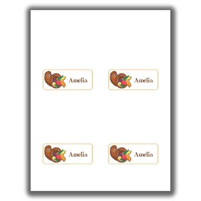 avery thanksgiving card templates thanksgiving place cards