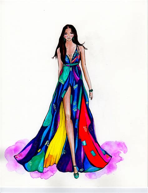 fashion illustration model fashion illustration by elery mathew williamson