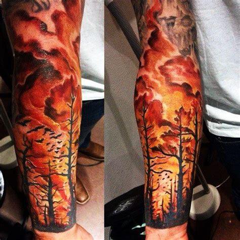 small flame tattoos burning jungle ink jungle