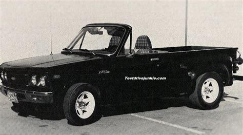 convertible toyota truck 187 1979 convertible mini trucks