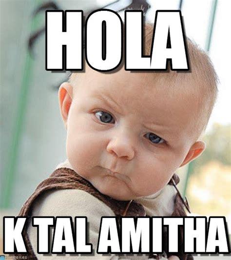 Hola Meme - hola sceptical baby meme on memegen