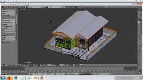 membuat rumah yang bagus di minecraft cara mudah membuat rumah di blender dengan addon archimesh