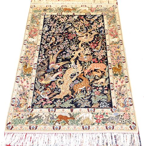 10 To Live By Rug by Isfahan Tree Of Silk Rug Item Yh 3125