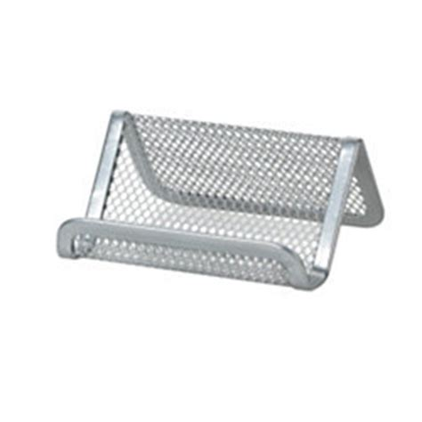 Officemax Card Holder Template by Officemax Mesh Business Card Holder Silver By Office Depot