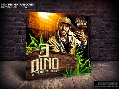 Mixtape Cover Design Template Psd By Industrykidz On Deviantart Mixtape Cover Template Psd