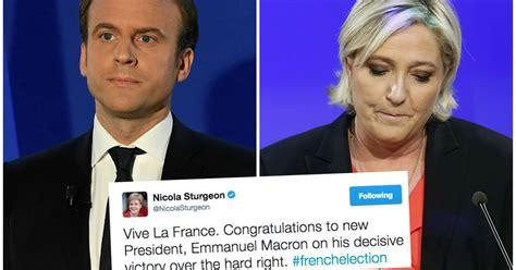 macron s france attracts english speaking tech start ups global vive la france nicola sturgeon congratulates new french