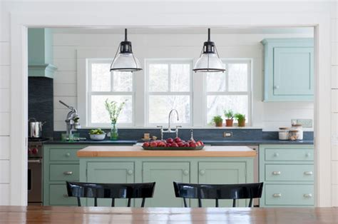 new kitchen lighting farmhouse style the turquoise home modern country style study farrow and green blue paint