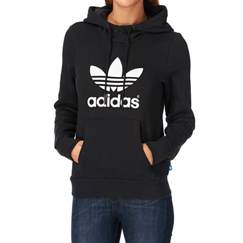 Jaket Hoodies Adidas Tshirt Hoodie Sweater Adidas Best Produk adidas originals trefoil hoody black free uk delivery