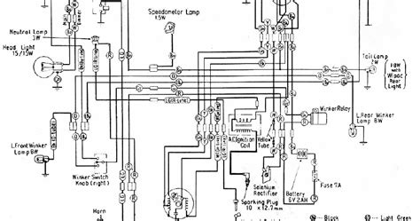 honda motorcycle wiring diagram honda motorcycle