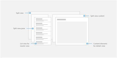 master pattern works master details uwp app developer microsoft docs
