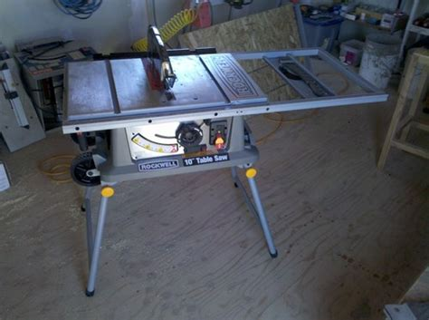 rockwell table saw review rockwell rk7241s review portable table saw