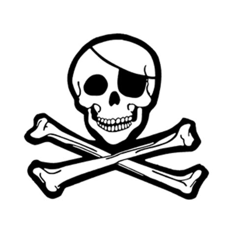 anatomy coloring book skull clipart jolly roger clipart best